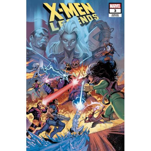 X-MEN LEGENDS 3 COELLO CONNECTING VAR (VO) Louise Simonson - Walter Simonson
