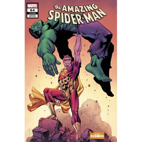 AMAZING SPIDER-MAN 64 PACHECO REBORN VAR (VO)