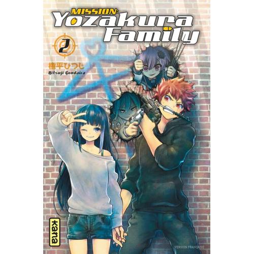 Mission : Yozakura family - Tome 2 (VF)