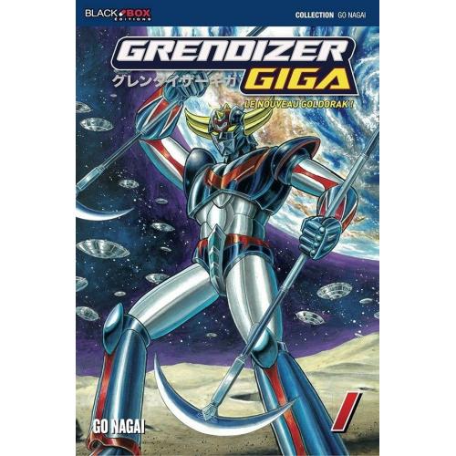 GRENDIZER GIGA INTEGRALE 2 TOMES - GO NAGAI (VF)