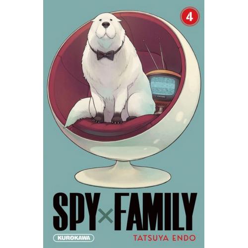 Spy X Family Tome 4 (VF)