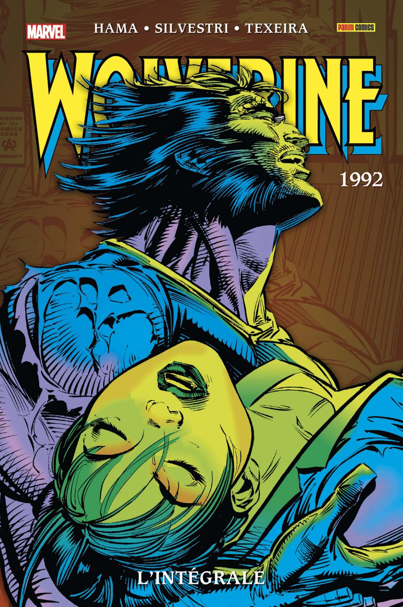 WOLVERINE : L'INTEGRALE 1992 (TOME 5 NOUVELLE EDITION)(VF)