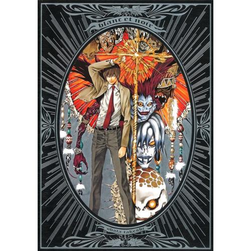 Takeshi Obata Illustrations - Death Note Artbook - Blanc et Noir (VF)