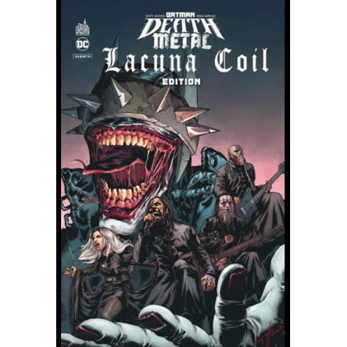 BATMAN DEATH METAL 3 LACUNA COIL EDITION TOME 3 (VF) édition speciale limitée