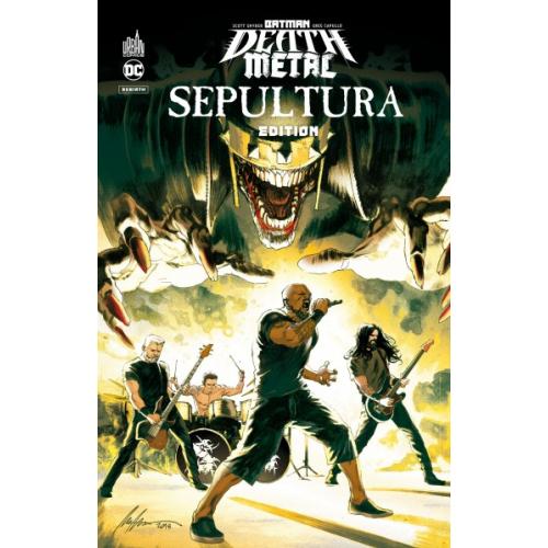 BATMAN DEATH METAL 5 SEPULTURA (VF) édition spéciale limitée