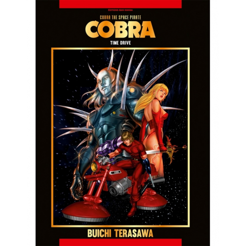 Cobra - The Space Pirate Tome 6 (Time Drive) (VF)