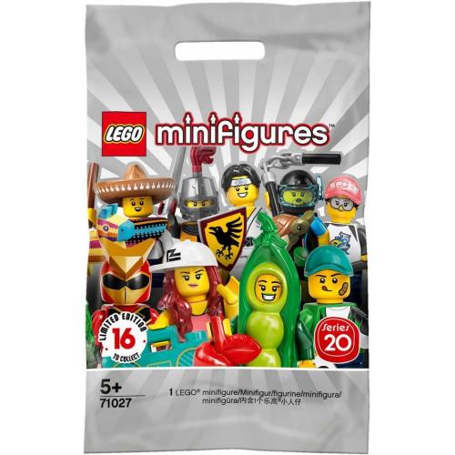 Mini-Figurine LEGO serie 20 - Sachet mystère