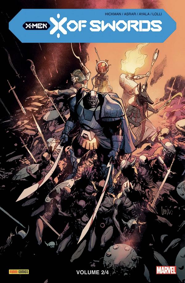 X-MEN : X OF SWORDS TOME 2 (VF)