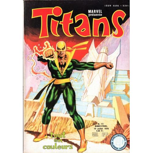 Titans N°15 Etat Moyen (VF)