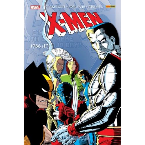 X-Men : L'intégrale 1986 II (Tome 11 Nouvelle édition) (VF)