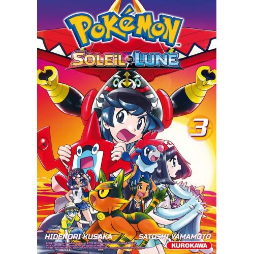 Pokémon Soleil/Lune : Tome 3 (VF)
