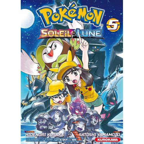 Pokémon Soleil/Lune : Tome 5 (VF)