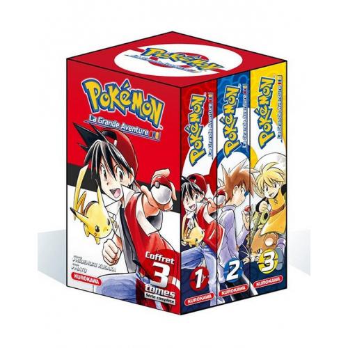 COFFRET - Pokémon - La Grande Aventure Tomes 1-2-3 + Guide Pokémon (VF)