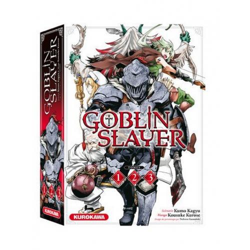 COFFRET - Goblin Slayer - tomes 1-2-3 (VF)