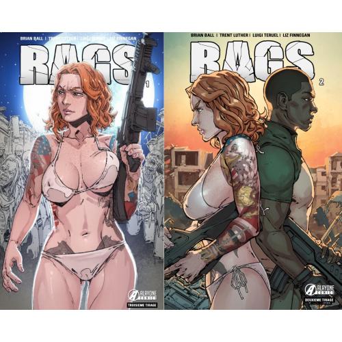 Offre découverte : RAGS tome 1 + Rags tome 2 Offert (17€ les 2 albums)