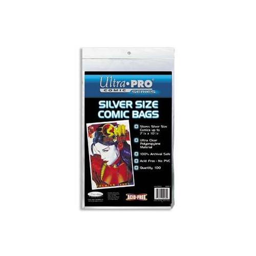 Comics Bags Silver size (x100)