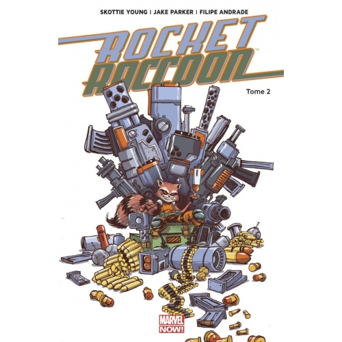 ROCKET RACCOON MARVEL NOW T02 (VF)