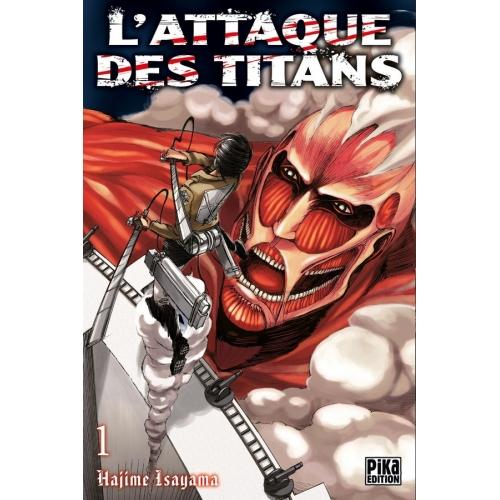 L'attaque des Titans Tome 1 (VF)