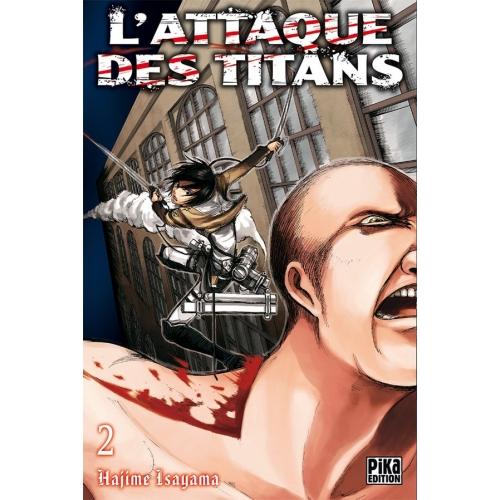 L'attaque des Titans Tome 2 (VF)