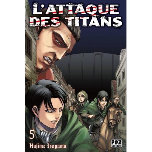 L'attaque des Titans Tome 5 (VF)