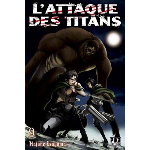L'attaque des Titans Tome 9 (VF)
