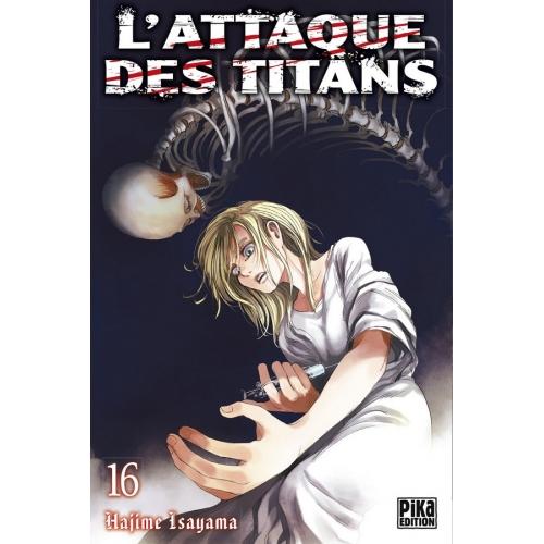 L'attaque des Titans Tome 16 (VF)