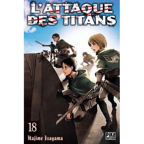 L'attaque des Titans Tome 18 (VF)
