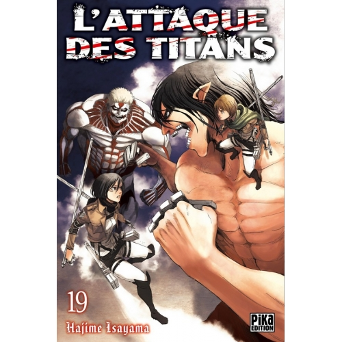 L'attaque des Titans Tome 19 (VF)