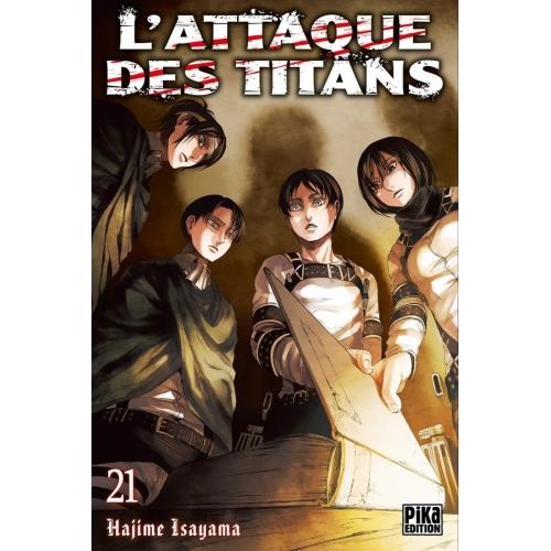 L'attaque des Titans Tome 21 (VF)