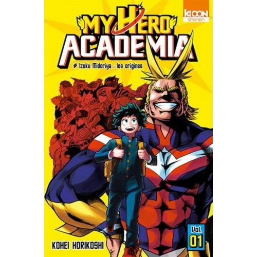 My Hero Academia Tome 1 (VF)