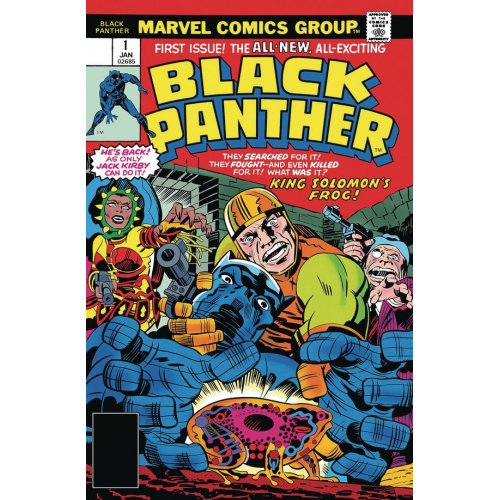 KIRBY 100TH BLACK PANTHER 1 (VO)
