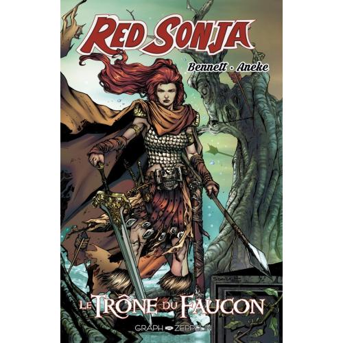 Red Sonja Le trône du faucon - Edition Collector- 200 ex - (VF)