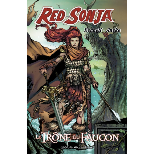 Red Sonja Le trône du faucon - Edition Collector- 200 ex - (VF)