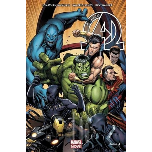 NEW AVENGERS MARVEL NOW Tome 4 (VF)