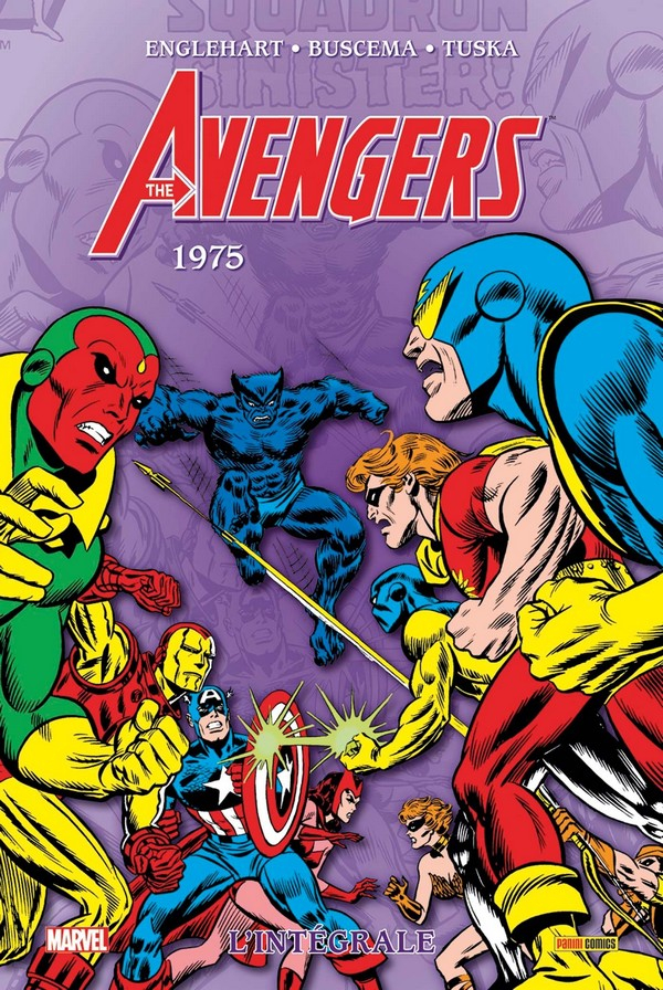 Avengers Intégrale Tome 12 1975 (VF)