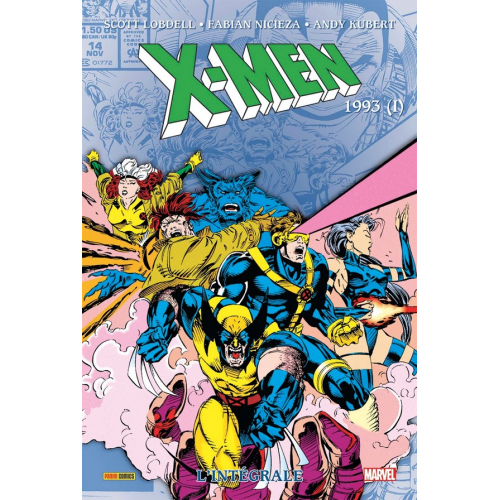 X-MEN INTEGRALE Tome 32 1993 I (VF)