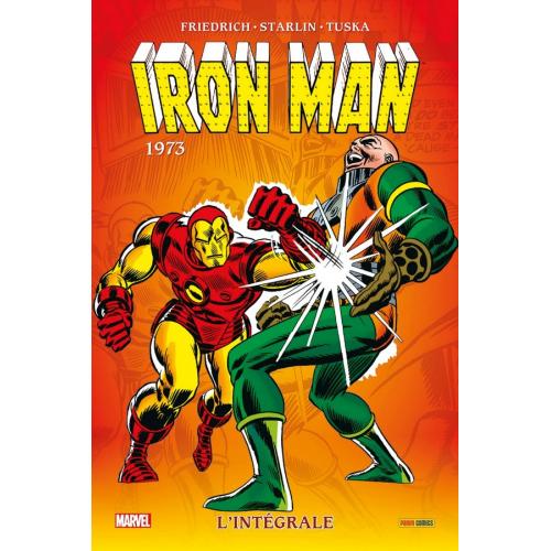 Iron Man Intégrale Tome 8 1973 (VF)