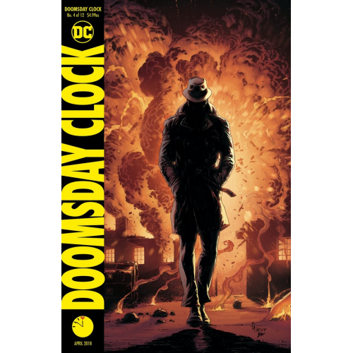 DOOMSDAY CLOCK 4 Cover B (VO)