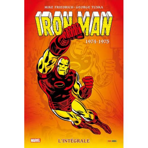 Iron Man L'intégrale 1974-1975 (VF)